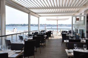 La terrasse du restaurant Alaïa
