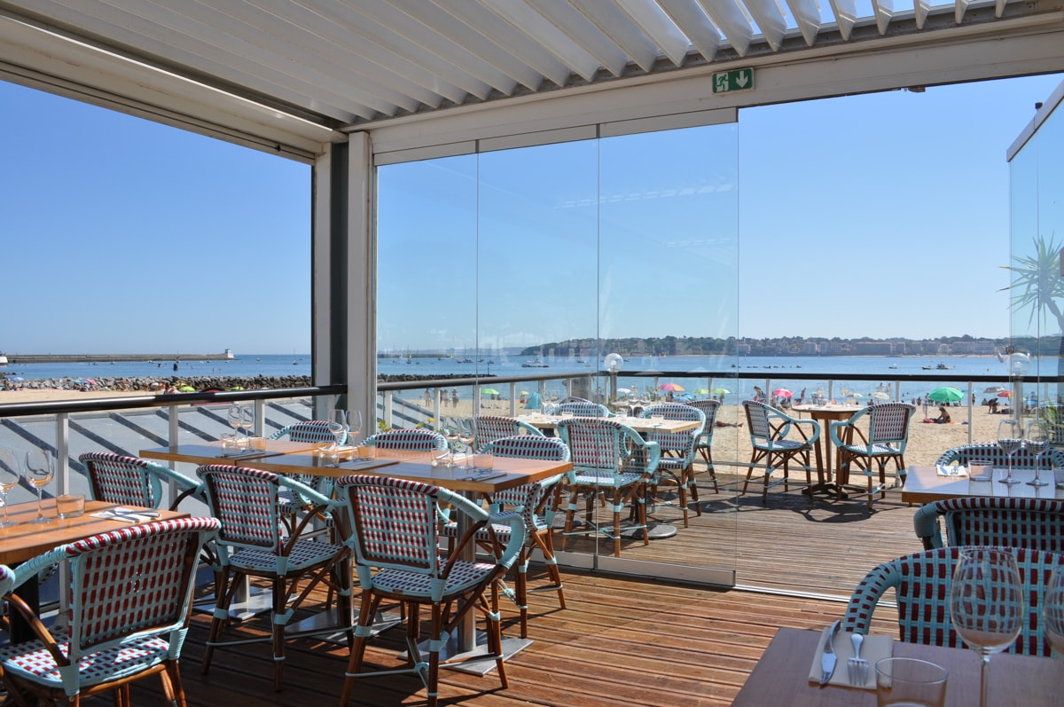 Terrasse restaurant Alaia